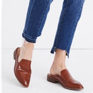 {Madewell} The Frances Leather Loafer Mule Size 10